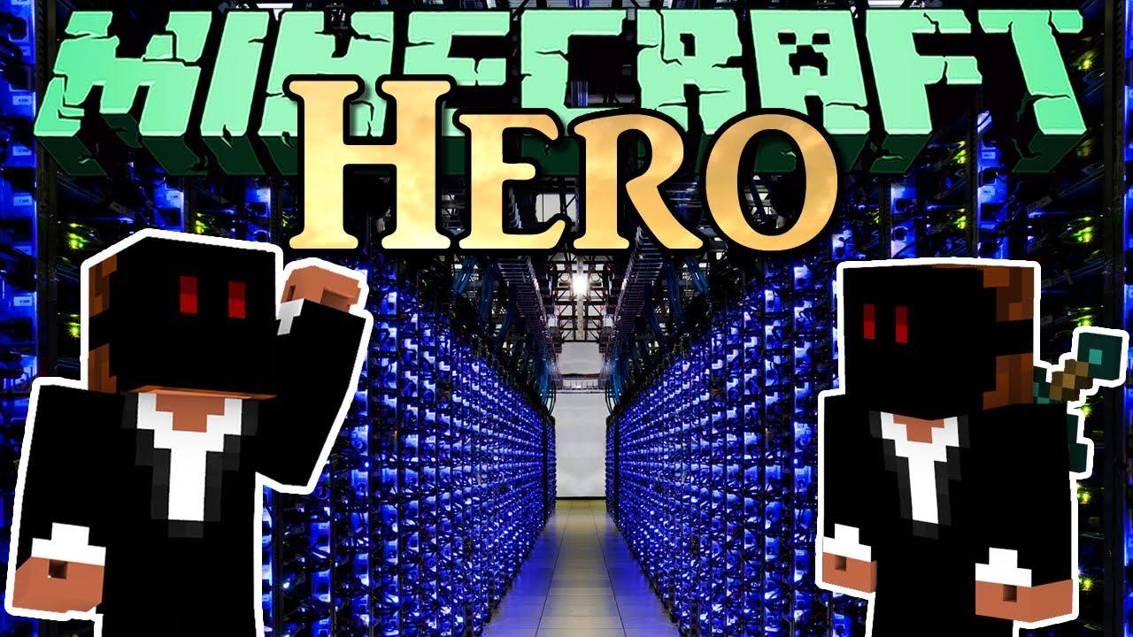 Minecraft 110 Videojuegos: Minecraft HERO - 110 - SERVER ABSTURZ