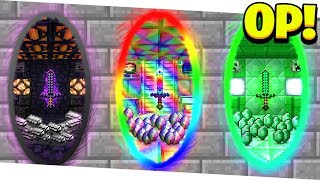 WHAT'S INSIDE THESE *SECRET* OVERPOWERED MINECRAFT PORTALS...? (Minecraft 1.13 Mods)