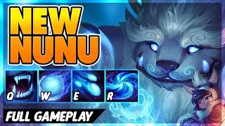 BEST REWORK YET (ACROSS THE MAP GIANT SNOWBALLS) - BunnyFuFuu Full Gameplay