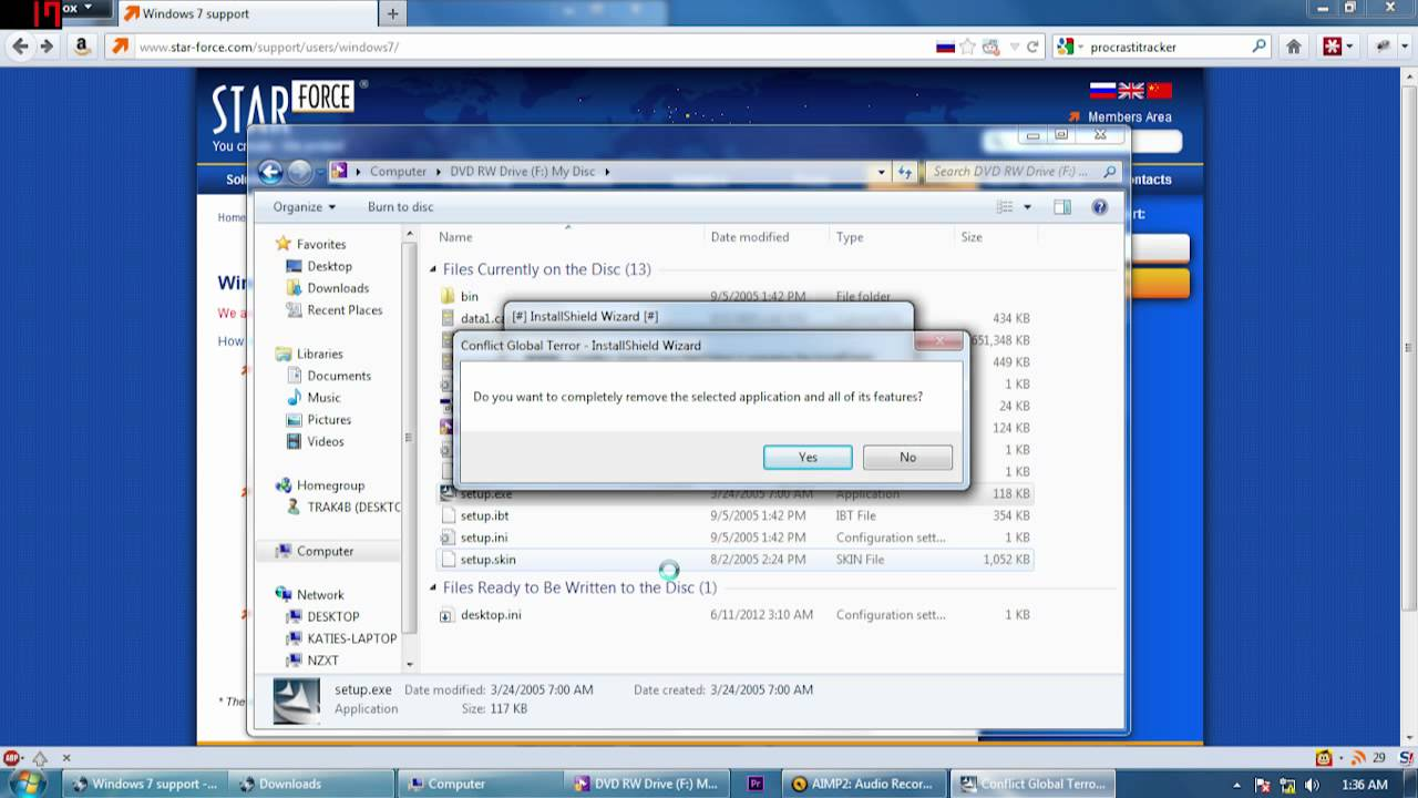 MANUALLY REMOVE STARFORCE WINDOWS 7 64BIT DRIVER DOWNLOAD