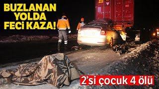 Konya-Adana Karayolunda Trafik Kazası: 1'i Çocuk 4 Ölü