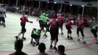 ICTRG vs ALAMO CITY Roller Derby at The Cotillion Ballroom in Wichita, KS  07/07/12  2nd half