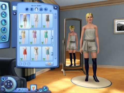 Nowe Fryzury I Ubrania Z The Sims 3 Impreza W Plenerze