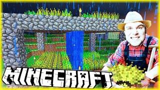 BUDUJĘ PIĘTROWY OGRÓDEK | Minecraft [#19] | BLADII & DOBRODZIEJ
