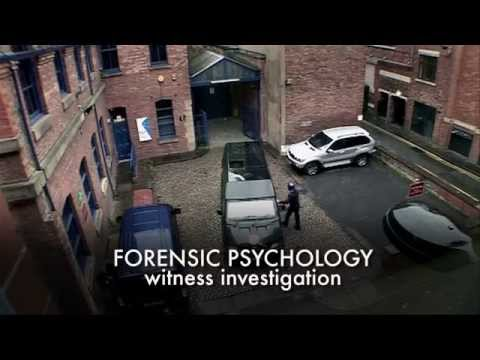 Forensic psychology: witness investigation