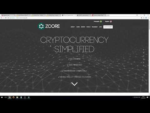 МАЙНИНГ Новая монета (ZCORE) NeoScrypt!