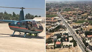 video: 'We're in a war for survival': Onboard the cash-strapped Lebanese army's fundraising helicopter flights