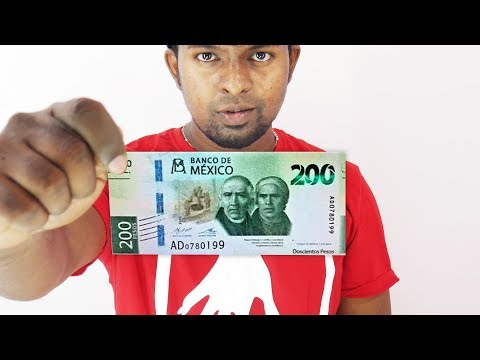 Mexico New 200 Peso Banknote - Beautiful Mexico Banknote Design!
