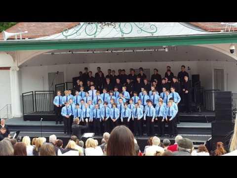 National Boys Choir Of Scotland- Feeling Good- Kelvingrove Bandstand