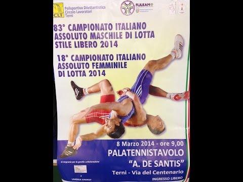 Campionato Italiano di Lotta Stile Libero e Femminile - Terni 2014 - FINALI