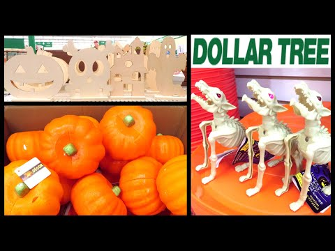 DOLLAR TREE FALL & HALLOWEEN 2019 | DIY & CRAFT SUPPLIES