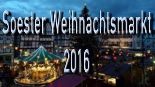 Weihnachtsmarkt 2016 in Soest