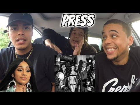 Cardi B – Press (Official Audio) | Reaction Review