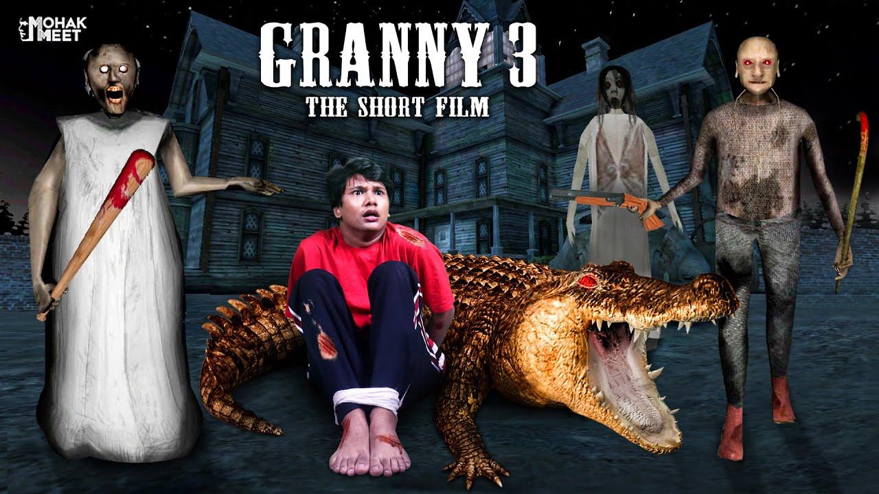 GRANNY 3 THE SHORT FILM : ग्रैनी | HORROR GAME GRANNY : CHAPTER 2 - SLENDRINA || MOHAK MEET