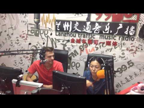 Vadiamo at Lanzhou Radio, China