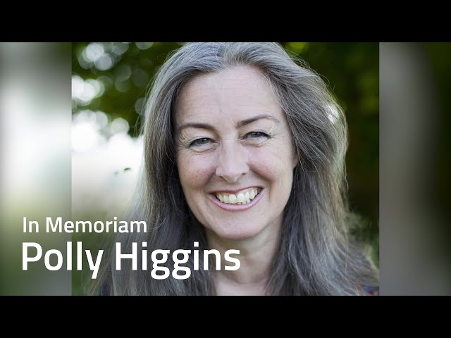 In Memoriam: Polly Higgins fighting ecocide