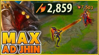 HOW YOU GET 2,859 AD IN SEASON 11 ON JHIN - BunnyFuFuu | League of Legends