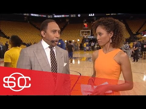 Stephen A. on JR Smith: Cavaliers should only give him '3 minutes' in Game 2 | SportsCenter | ESPN