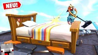 So kann er mein Bett nicht mehr abbauen in Fortnite Lucky Block Bedwars Modus