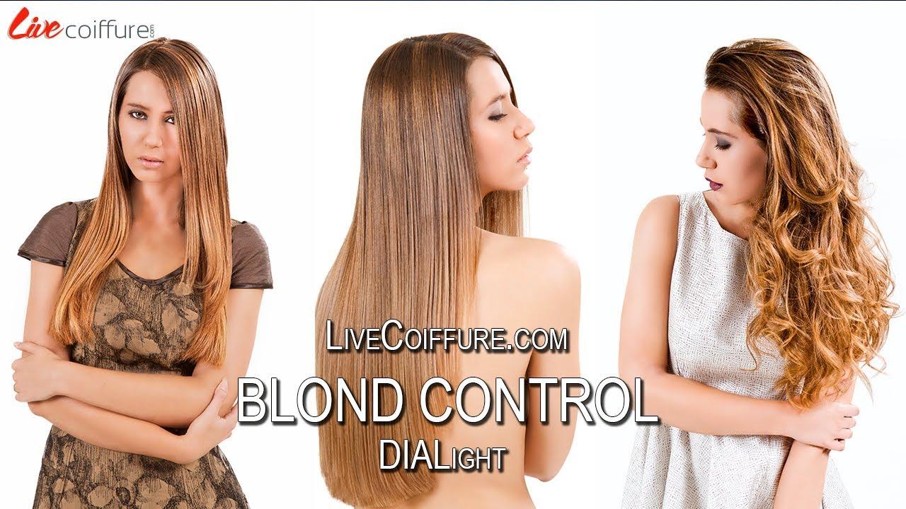 teaser de la formation coloration coiffure dialight blond control par livecoiffure youtube - Coloration Inoa Avis