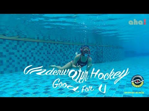 Underwater Hockey Good 4 You   Extreme Sports