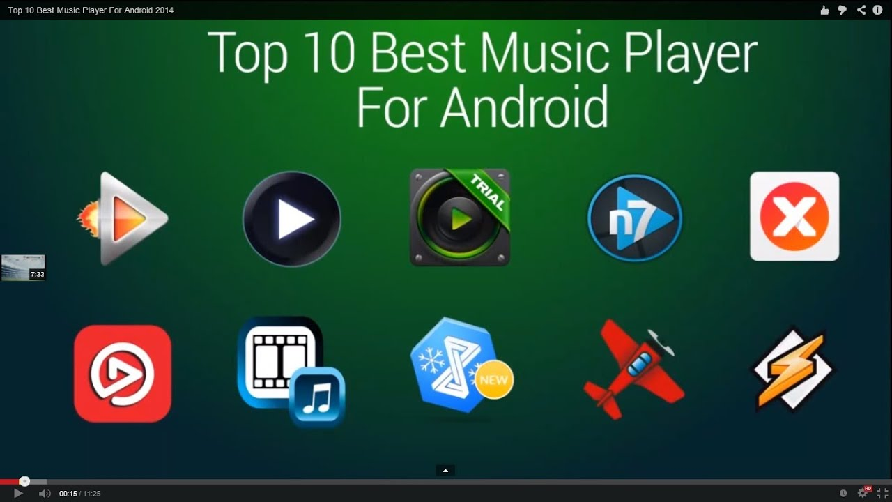 top 10 best music player for android 2014 youtube. Black Bedroom Furniture Sets. Home Design Ideas