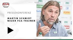 18/19 // Pressekonferenz // Martin Schmidt neuer Cheftrainer