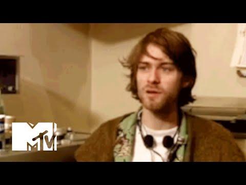 Kurt Cobain Plays With A Taser & A Dream Machine Device   MTV News