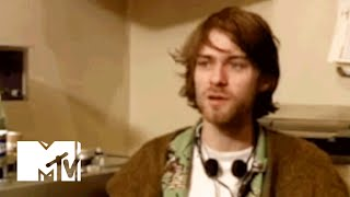 Kurt Cobain Plays With A Taser & A Dream Machine Device | MTV News