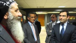 Syriac Orthodox Archbishop Mor Gregorius Melke Ürek on World Council of Arameans (Syriacs)