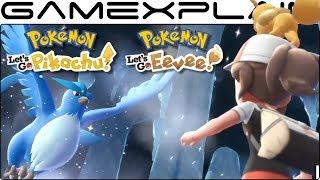 Pokémon Let's Go, Pikachu & Eevee! - Adventure Awaits Trailer (Nintendo Switch)