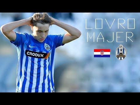 LOVRO MAJER - Incredible Skills Show, Goals, Assists - NK Lokomotiva Zagreb - 2017