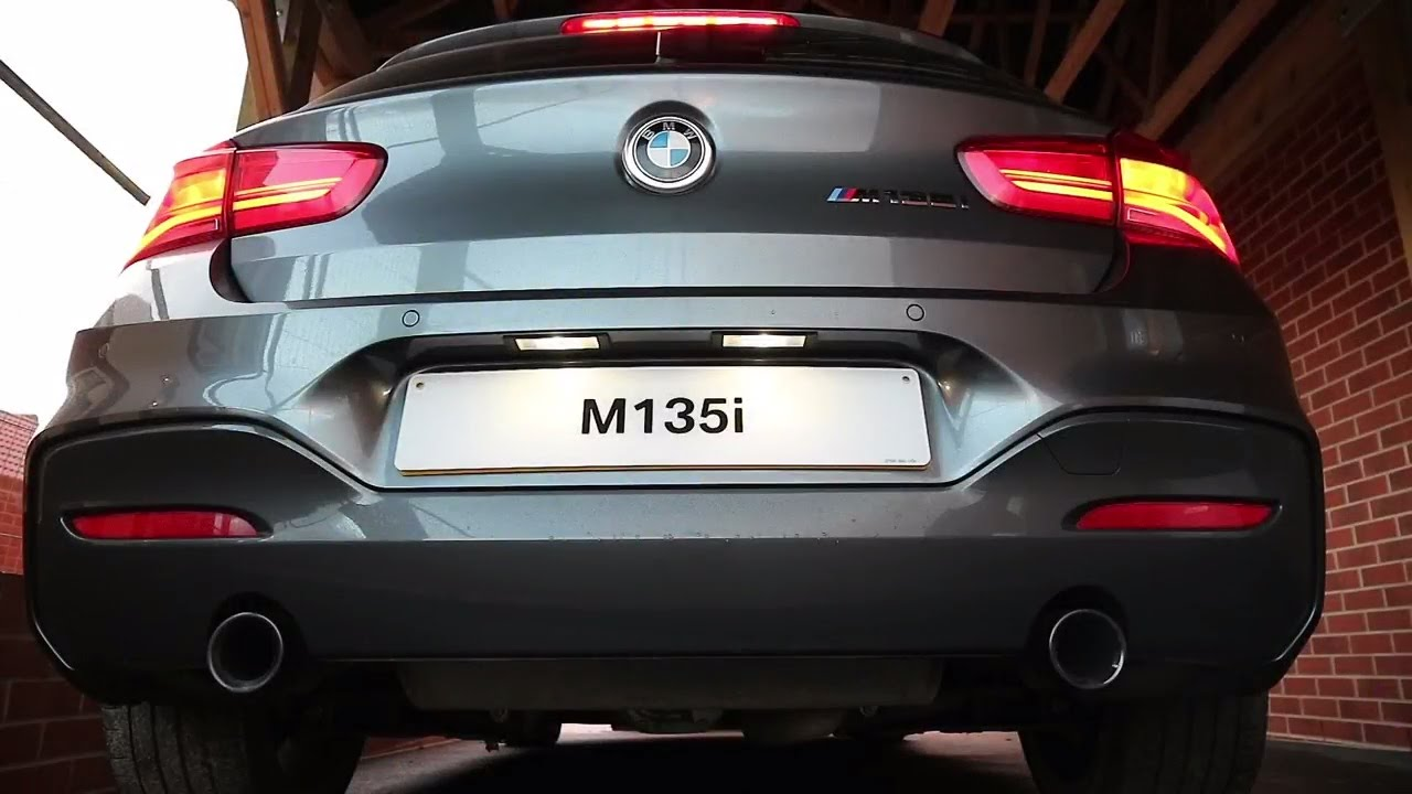 2016 Bmw M135i F20 Lci Cold Start And Revving Exhaust Sound