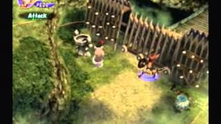 TPGR : Final Fantasy Crystal Chronicles (GameCube) first level Gameplay