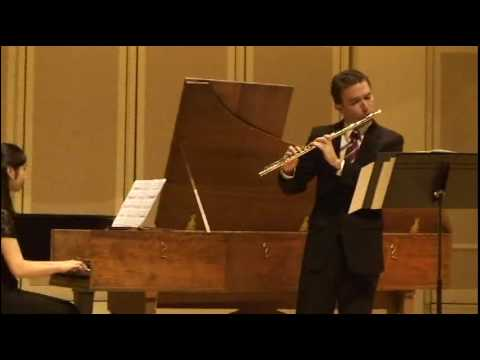 Handel: Flute Sonata in A minor, I and II