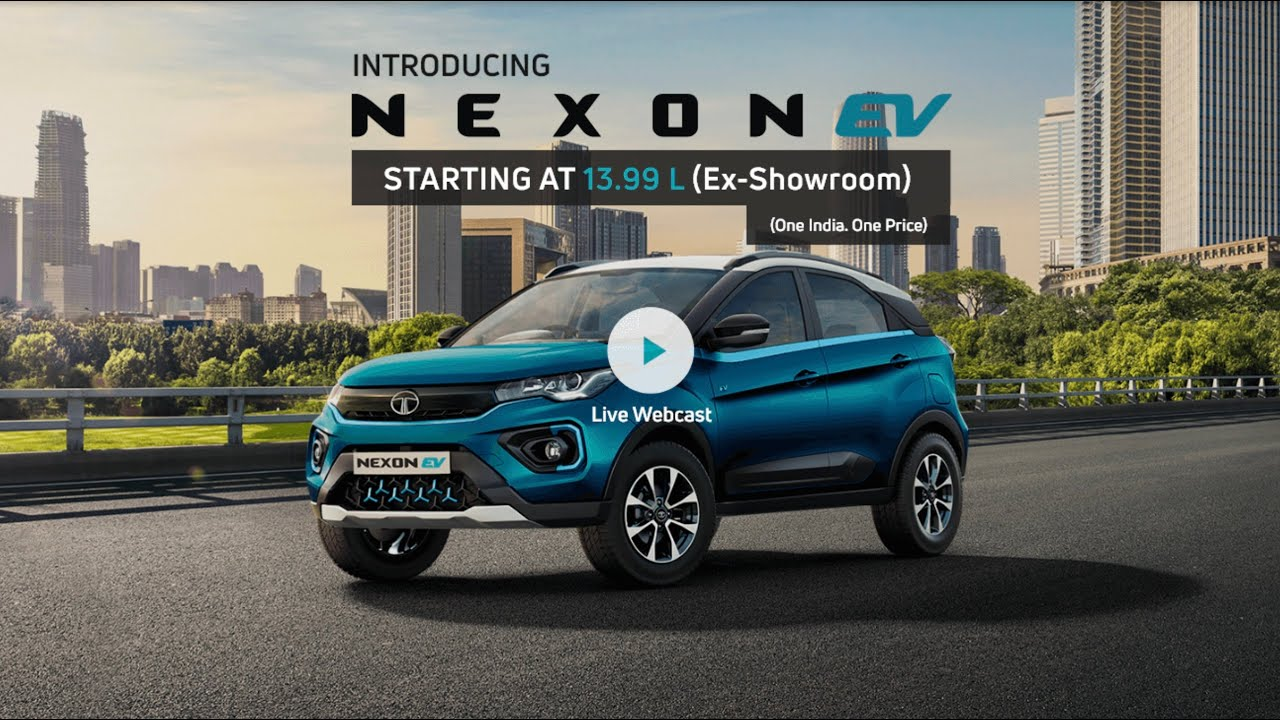 Tata Nexon Electric 2020 Launched At Inr 13 99 Lakhs Best Electric Cars In India 2020 Youtube