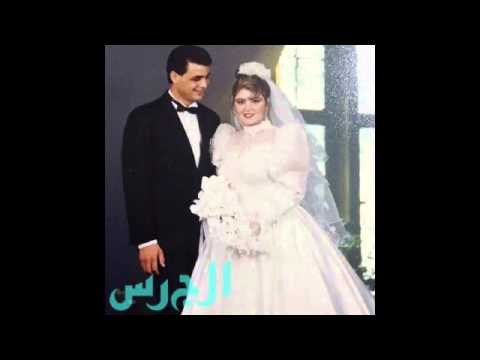 صور نادرة من زفاف مها أحمد ومجدي كامل