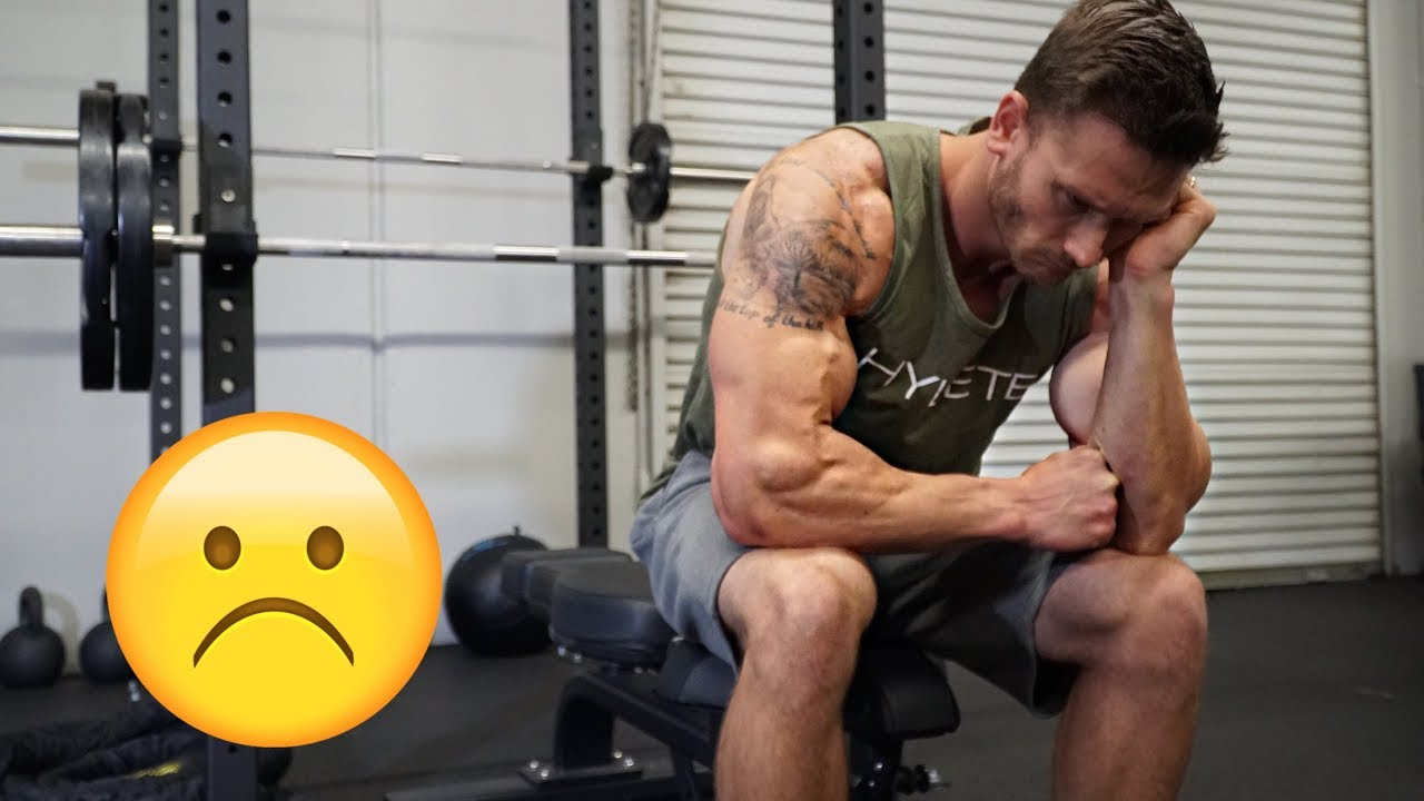 What not to do when working out