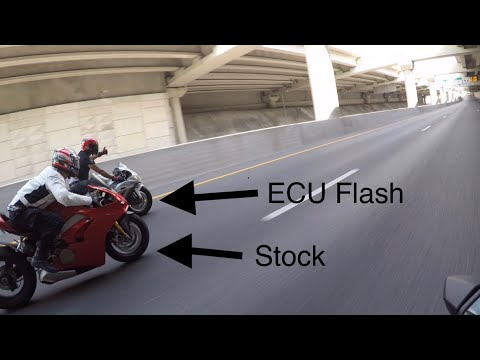 Ducati V4S Vs Yamaha R1M Vs Kawasaki ZX10R - Superbike Street Race