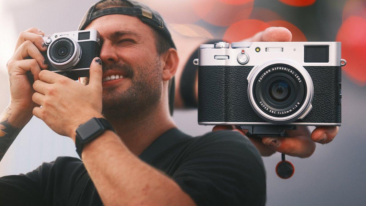 FUJI X100V Street Photos w/ Kodak 160 Film Recipe