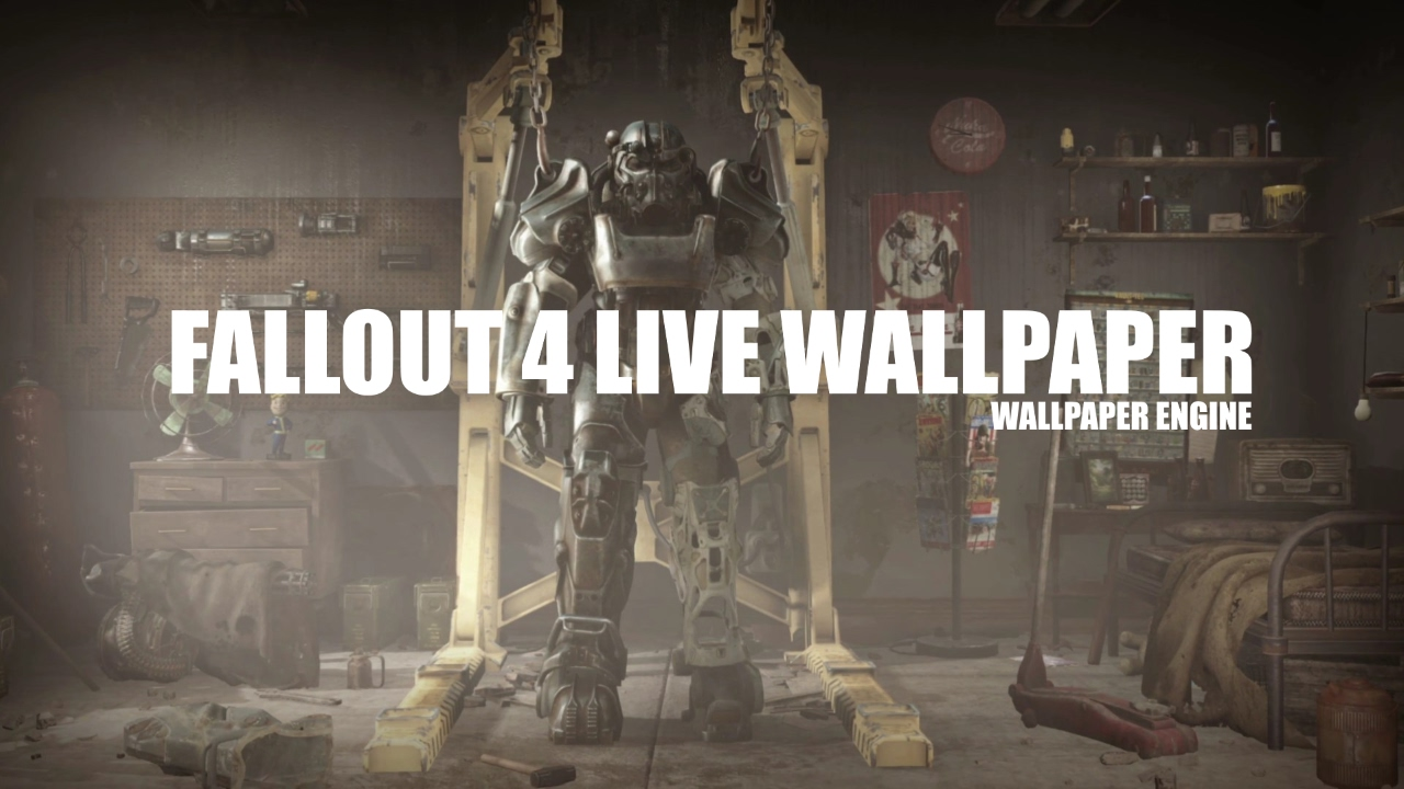Fallout 4 Live Wallpaper - Wallpaper Engine
