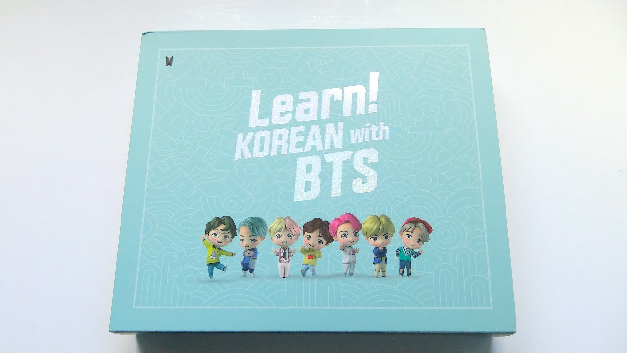 Download [ASMR] Unboxing BTS 방탄소년단 Learn! KOREAN with BTS Package
