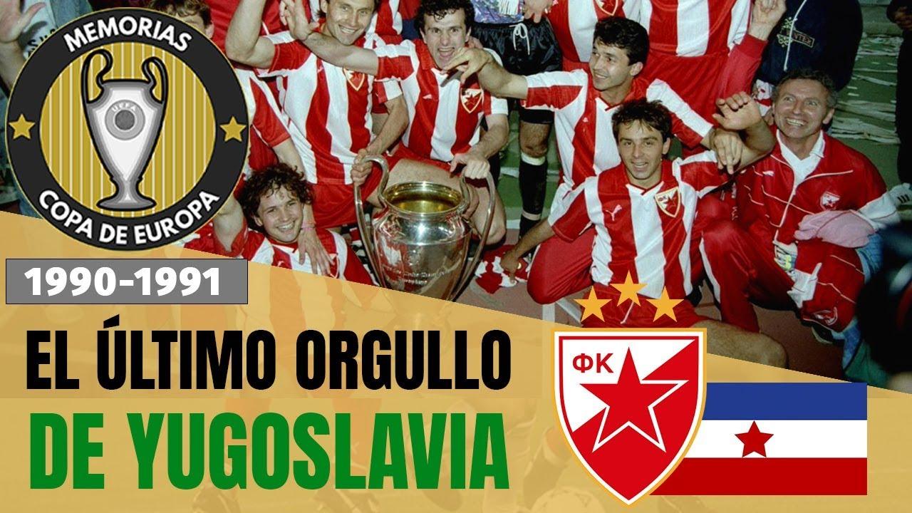 Estrella Roja De Belgrado Campeón De Europa 1991 Historia De La Champions Youtube