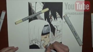 Speed Drawing Naruto - Obito & Rin