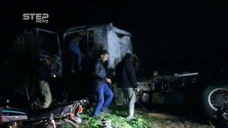 Сирия. Нападение на турецкий конвой в Идлибе