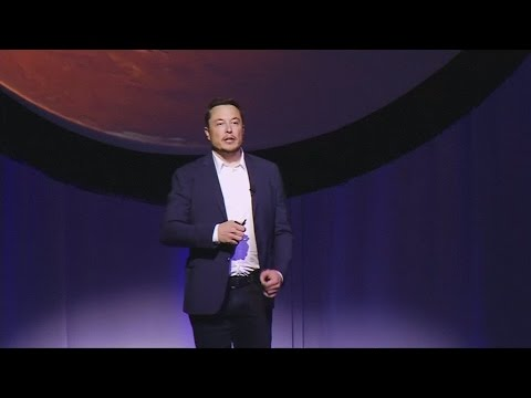 SpaceX founder Elon Musk unveils plans to colonise Mars