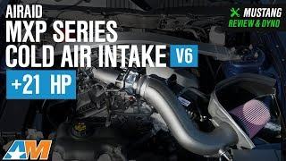 2011-2014 Mustang V6 Airaid MXP Series Cold Air Intake - SynthaFlow Oiled Filter Review & Dyno