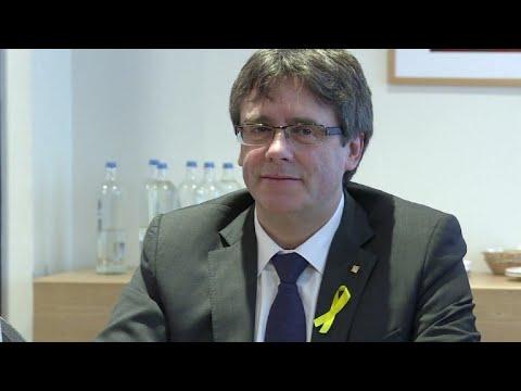 Puigdemont asegura que puede presidir Cataluña desde Bélgica