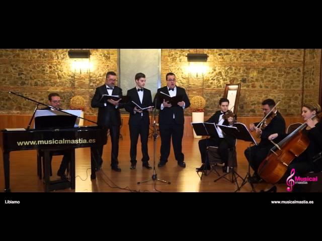 Los tres tenores Traviata Libiamo Musical Mastia
