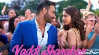 De De Pyaar De   Vaddi Sharaban New Song   Ajay Devgn   Tabbu, Rakul,    Sunidhi,